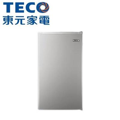 【TECO 東元】99公升二級能效單門小鮮綠冰箱(R1092N)