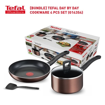 Tefal | Day by Day Cookware Set (4 Pcs)