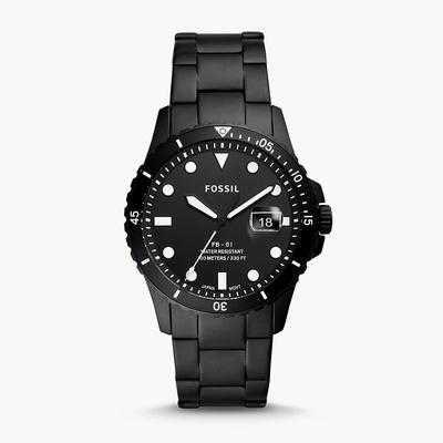 Fossil | FS5659 Three-Hand Date Rotating Black Bezel Men's Watches
