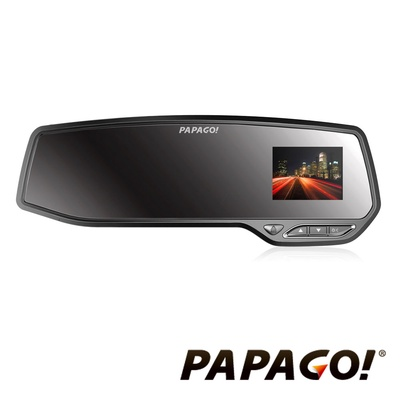 PAPAGO GoSafe 372 Full HD後視鏡行車記錄器