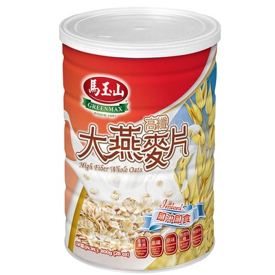 【馬玉山】高纖大燕麥片/黑燕麥片