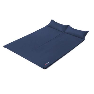 【PUSH!登山戶外用品】雙人枕頭帶自動充氣墊睡墊防潮墊床墊