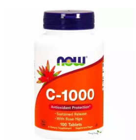 Now Foods | วิตามืนซี 1,000 mg Vitamin C with Rosehips