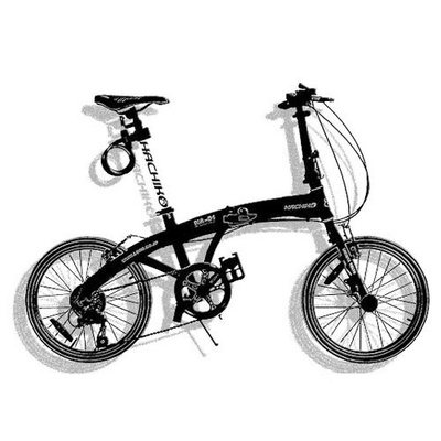 HACHIKO | HA-01 Japan Foldable Bicycle 20 inch