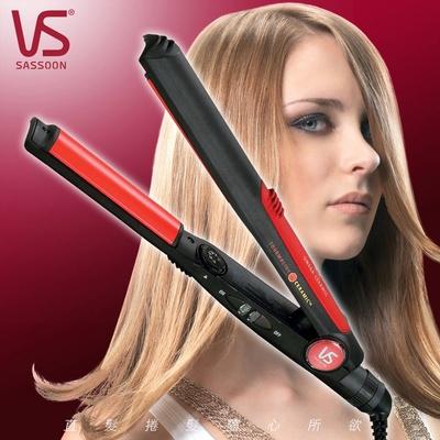 【英國VS沙宣】電氣石陶瓷弧版直髮夾/離子夾(VSS1W)