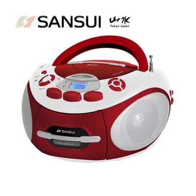 【SANSUI 山水】CD/MP3/USB/SD/AUX/卡帶手提式音響(SC-85C)