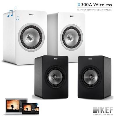【KEF 英國】X300A Wireless 無線Hi-Fi主動式同軸書架喇叭