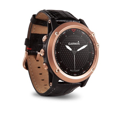 GARMIN fenix 3 全能戶外運動GPS腕錶玫瑰金