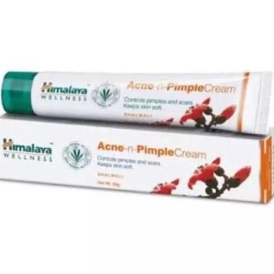 Himalaya Acne-n-Pimple | หิมาลายา  ครีมแต้มสิวผดผื่นแดงเม็ดเล็กและลดรอยแดง