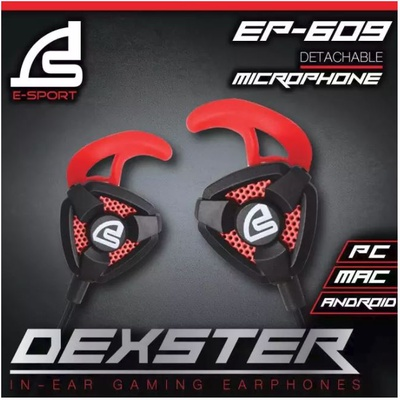 E-Sport | In-Ear Gaming Headphone รุ่น DEXSTER EP-609