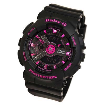 CASIO | นาฬิกาข้อมือผู้หญิง รุ่น CASIO BA-111-1AF สีดำ