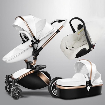 Aulon | Baby Stroller 3-in-1 with car seat