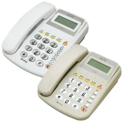 【ASITO】來電顯示有線電話 AS-10301
