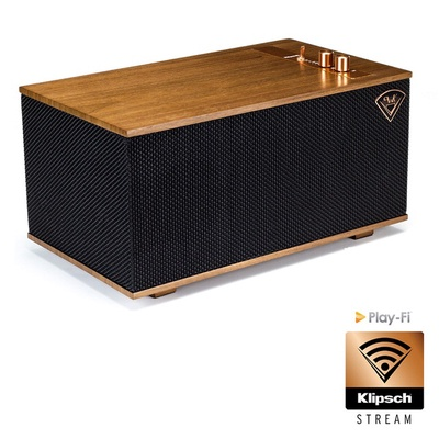 【Klipsch】The Three(藍芽WIFI無線音樂串流系統喇叭)