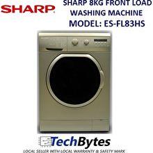 Sharp Washer Front Load 8kg (ES-FL83HS)