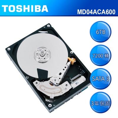 TOSHIBA 硬碟 6TB