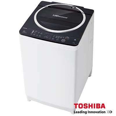 【TOSHIBA東芝】SDD 變頻12公斤洗衣機 魅力黑(AW-DE1200GG)