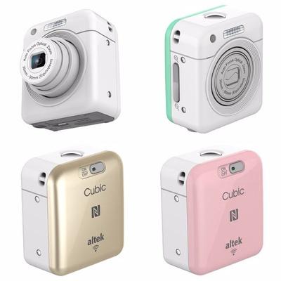 【altek 華晶科】Cubic 迷你攝錄影機(廣角/兒童相機/監視/行車紀錄)