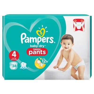 Pampers | แพมเพิส กางเกงผ้าอ้อมเด็ก รุ่น Baby Dry Pants
