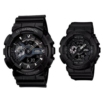 CASIO | นาฬิกาข้อมือผู้หญิง รุ่น CASIO Baby-G BA-110BC-1 สีดำ