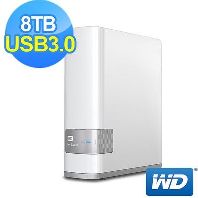 【WD 威騰】My Cloud 雲端儲存系統(8TB)