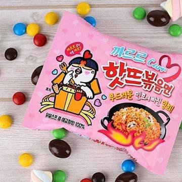 【Samyang 三養】粉紅辣雞奶油培根乾炒拉麵
