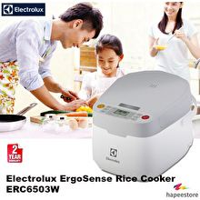 Electrolux ERC6503W Microcomputer Rice Cooker
