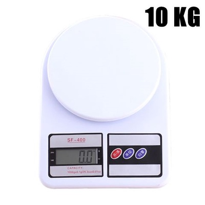 Digital Kitchen Scale Electronic LCD Weighing Scale 10 kg (SF-400)