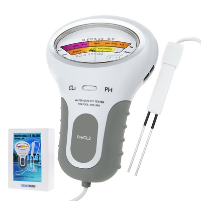 Water Quality Chlorine Tester PH & CL2 Level Meter