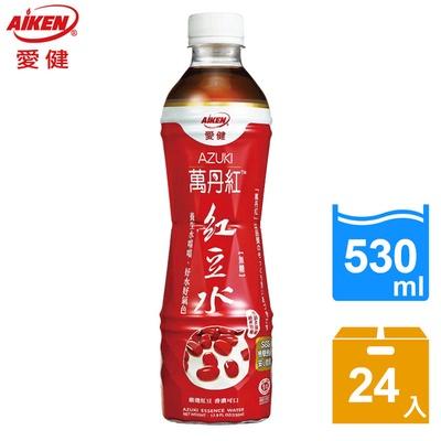 【愛健】萬丹紅紅豆水530ml*24入(箱)