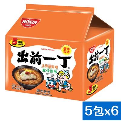 【日清】出前一丁 北海道味噌豚骨湯味速食麵