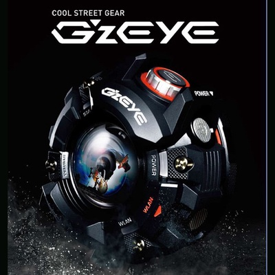 【CASIO】G-SHOCK概念 GZE-1 運動相機