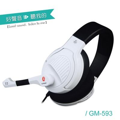 【ALTEAM我聽】GM-593 電競四轉音場音效耳麥