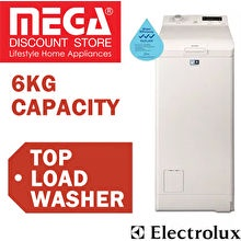 Electrolux EWT1066EWW Time Care Washing Machine 6kg
