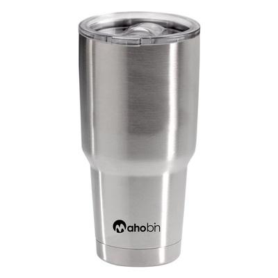 【Mahobin魔法瓶】304不鏽鋼雙層真空加蓋保溫/保冰杯