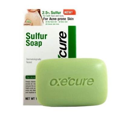 OXECURE | Sulfur Soap สบู่ฆ่าเชื้อ รักษาสิว