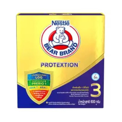 Bear Brand Advance Protextion | นมผง ตราหมี สูตร 3