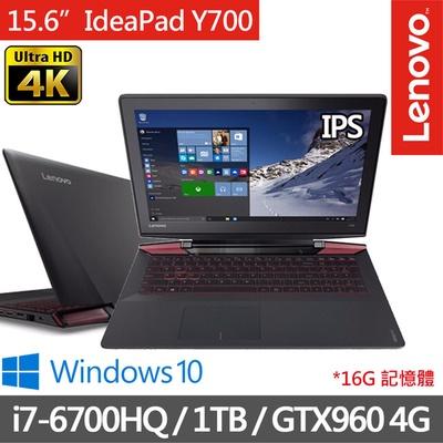 Lenovo  IdeaPad  Y700  15.6吋筆電