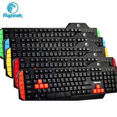 Razeak | คีย์บอร์ด Multimedia Gaming Keyboard USB รุ่น RK-8168