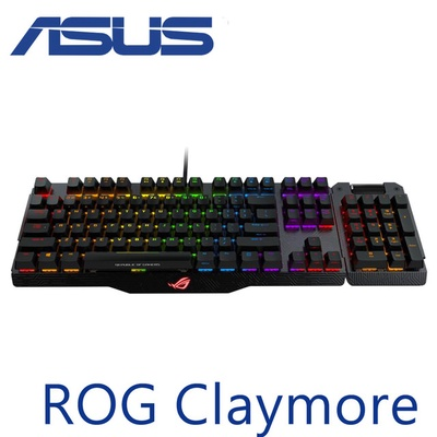 ASUS 華碩 ROG Claymore 機械式電競鍵盤(青軸)