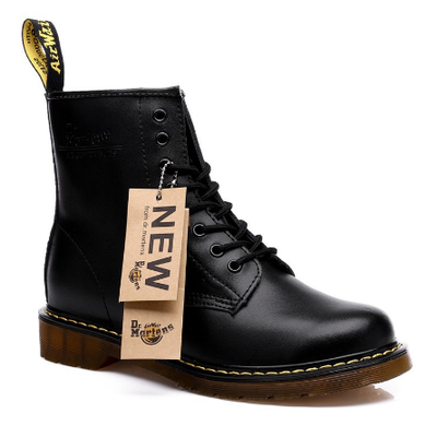 Dr. Martens | รองเท้าบู๊ทหนัง Men/Women Fashion Martin Boots British High Top retro
