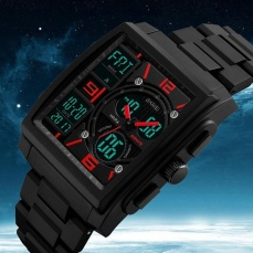 SKMEI   นาฬิกาข้อมือผู้ชาย SKMEI 1274 สีดำ