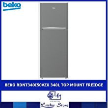 Beko RDNT340I50VZX 340L Top Mount Fridge