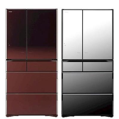 【日立HITACHI】735L日本原裝六門琉璃冰箱(RX730GJ)