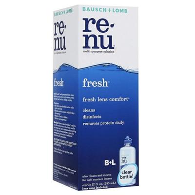 Renu | น้ำยาล้างคอนแทคเลนส์ Renu Fresh Multi Purpose Solution