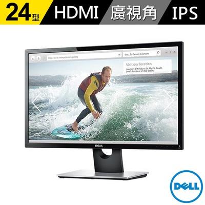 【DELL 戴爾】SE2416H 24型 IPS寬螢幕(原廠三年保固)