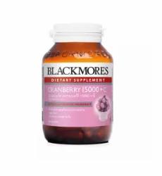 Blackmores | CRANBERRY 15000 + C ลดความเสี่ยงกระเพาะปัสสาวะอักเสบ ช่วยดูแลผิวพรรณ