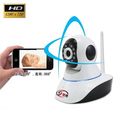【IS愛思】720P百萬畫素-H.264無線遠端攝影機(IR-H01)
