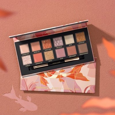 Perfect Diary   Highly Pigmented Explorer Eyeshadow
