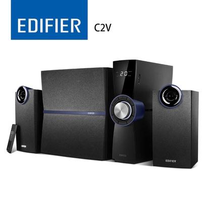 【EDIFIER】C2V 2.1聲道MFD木質三件式音箱